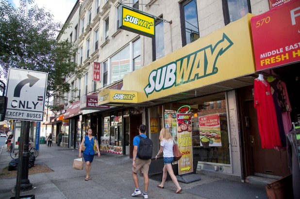 Sales at Subway fell to $8.3 billion in 2020, according to market researcher Technomic, from $12.3 billion in 2013, though the chain says a recent menu revamp has led to an increase in sales more recently
