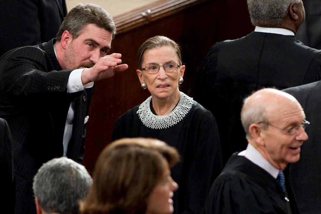 Ginsburg was laid to rest in Arlington National Cemetery near President John F. Kennedy and several other of her colleagues that served on the bench with her.