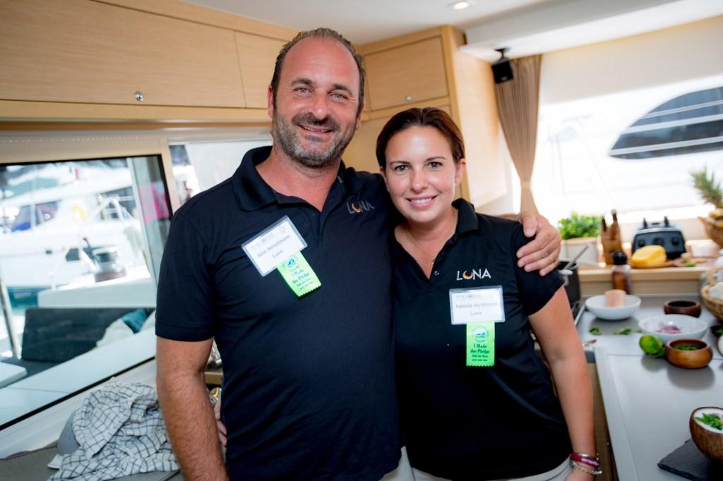 Nim and Fabiola Hirschhorn of Sail LUNA LLC