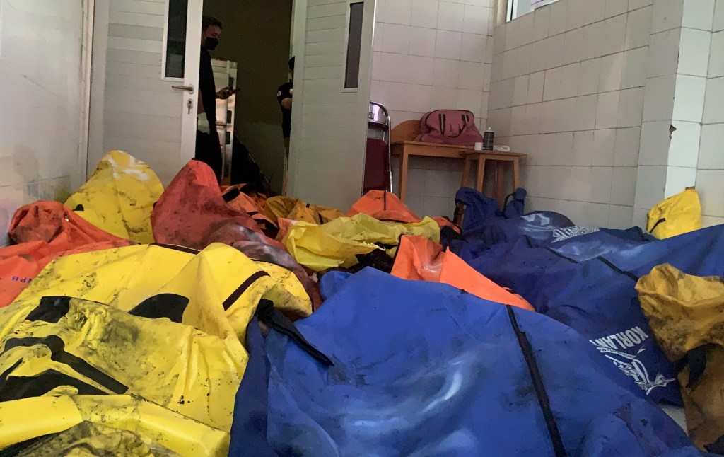 More of the 41 victims killed in the Indonesian prison fire.
