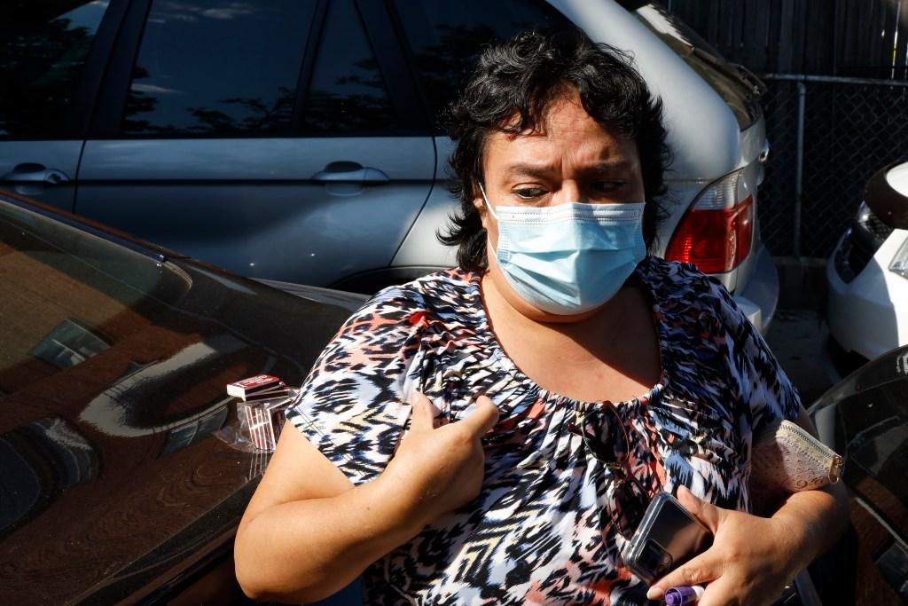 Nancy Pico said she pleaded with police to save her neighbors.