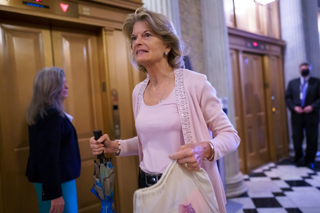 Sen. Lisa Murkowski has not yet indicated how she'd vote on this spending bill.
