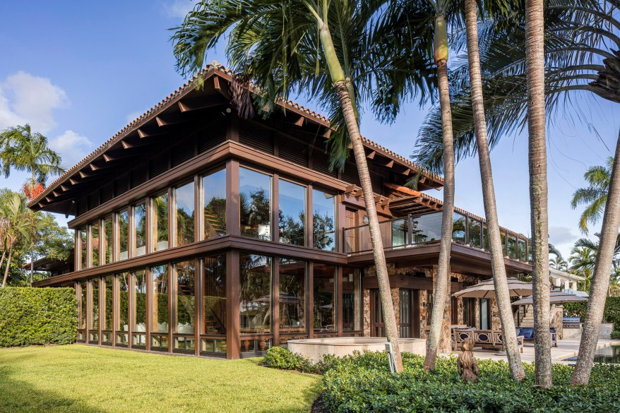 The Bay Point home is Frank Lloyd Wright-inspired.