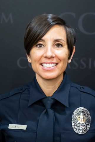 Georgetown Police Officer Michelle Gattey, who recently died of complications from COVID-19.
