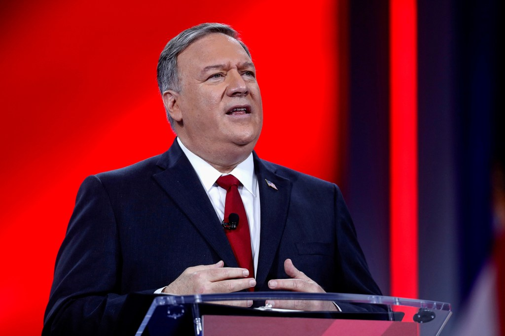"""Former Secretary of State Mike Pompeo slammed Biden saying that the military bowed to """"political pressure"""" and acted too fast."""