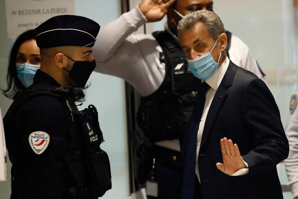 Sarkozy claimed the extra money didn't go into the campaign and he couldn't be blamed for the campaign spending.