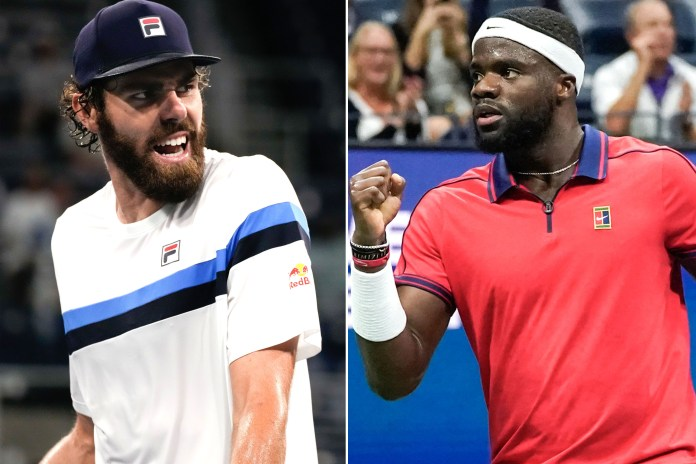 Reilly Opelka and Frances Tiafoe