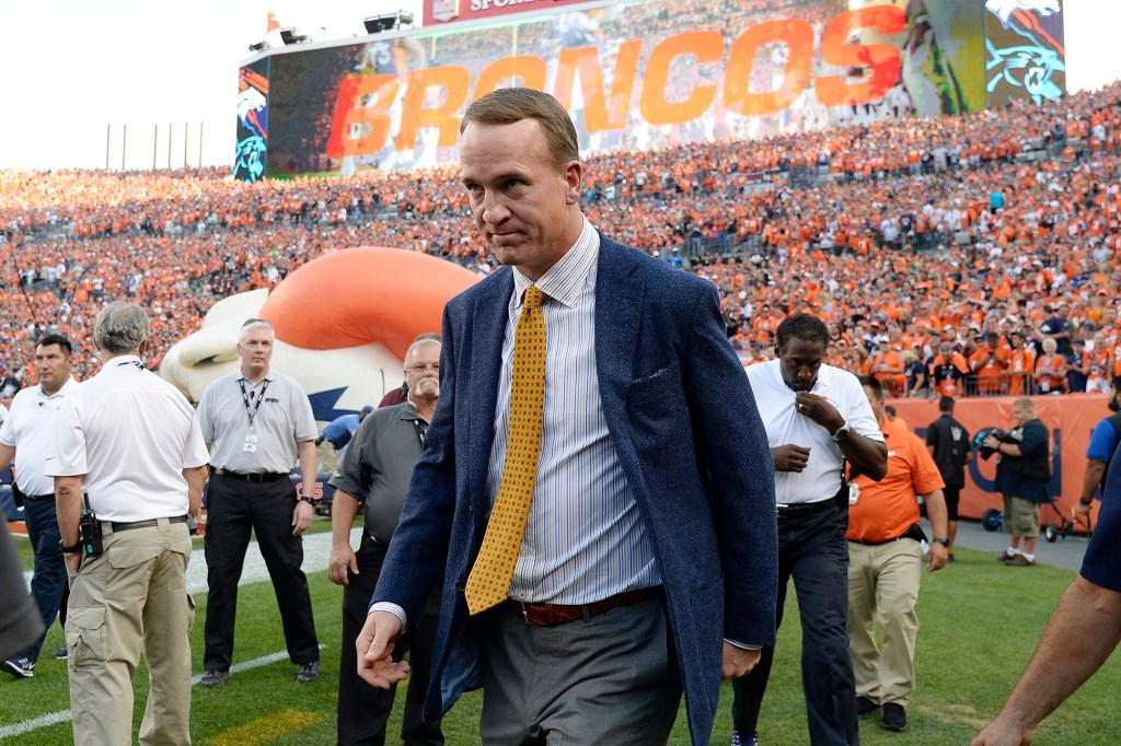 Peyton Manning Broncos NFL