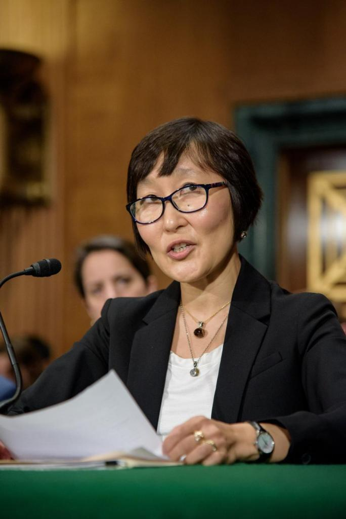 Omarova was picked to be the US Treasury Department's comptroller.