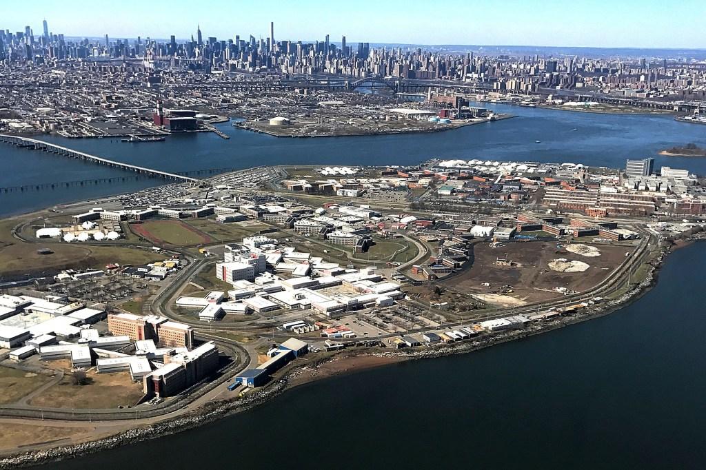The Rikers Island Prison complex