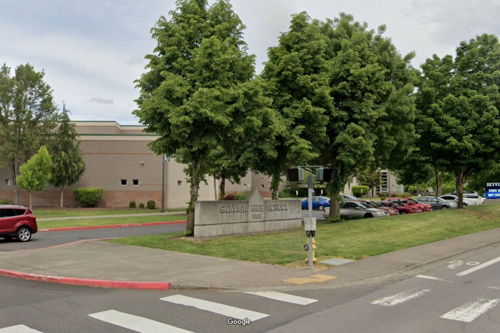 Washington students and staff are required to wear a mask despite protests outside of schools such as Vancouver's Skyview High School.