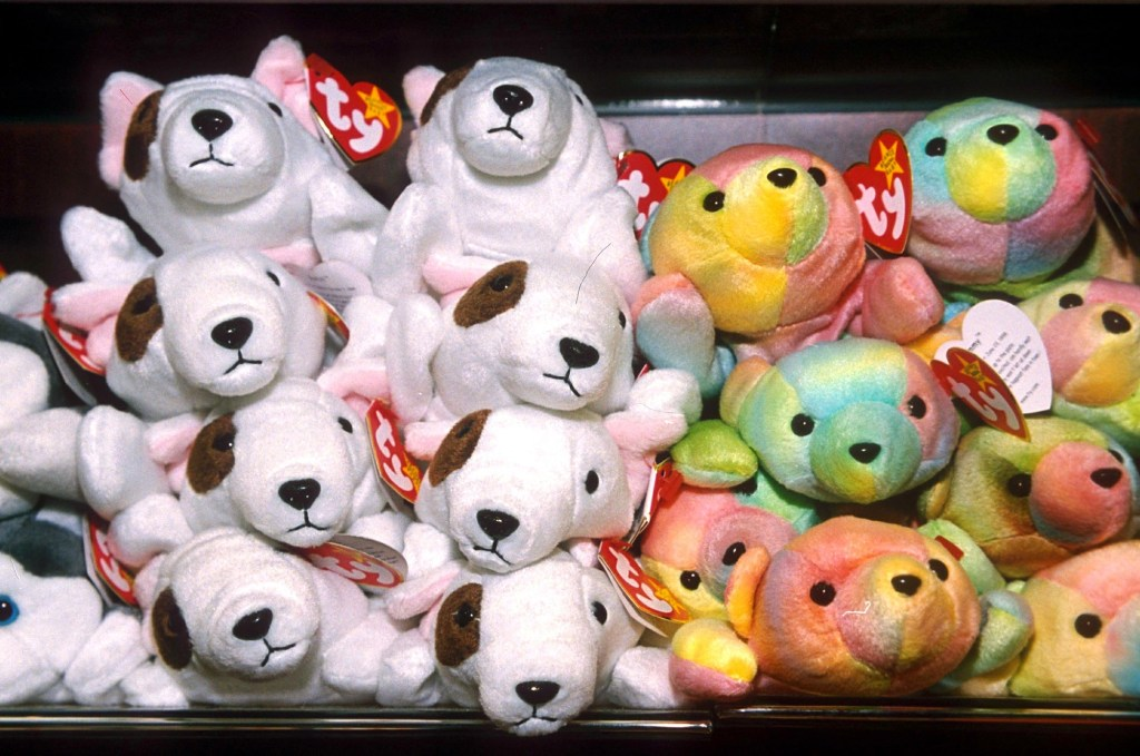Warner stopped making Beanie Babies in 1999, but the Ty company still sells other plush toys.