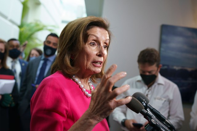 """House Speaker Nancy Pelosi has claimed the Build Back Better Act will """"cost zero."""""""