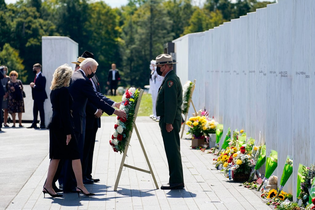 Biden is next expected to visit the Pentagon for another memorial.