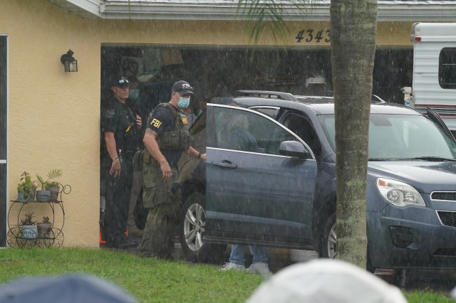 Florida police and the FBI swarmed Laundrie's parent's house seizing evidence.