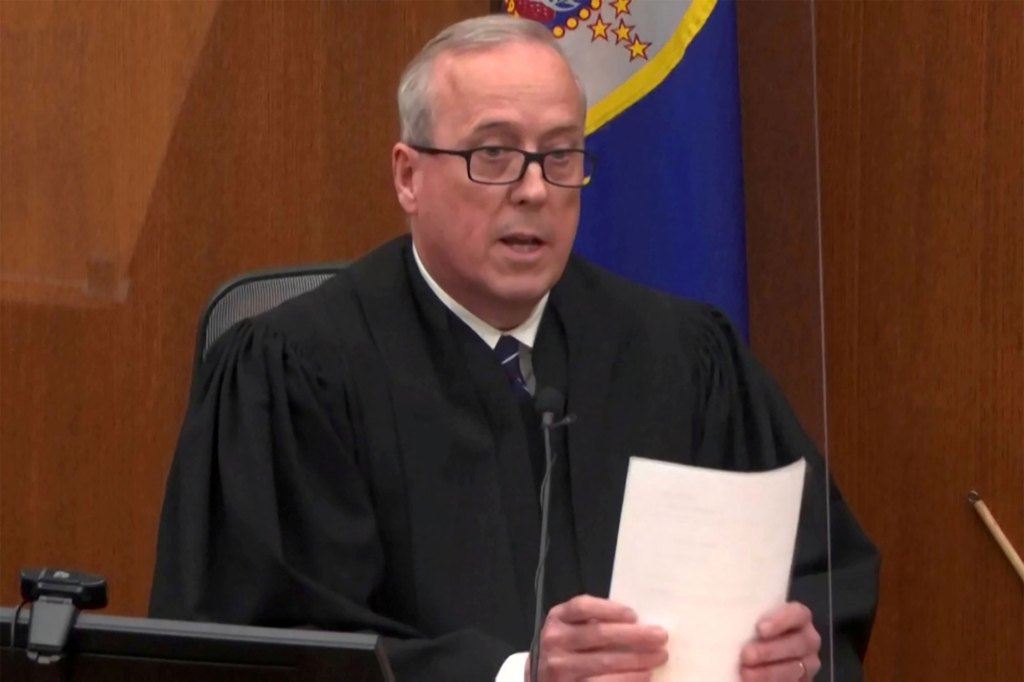 Chauvin claims Judge Peter Cahill abused his discretion on multiple occasions throughout the trial, including denying requests to grant a new trial.