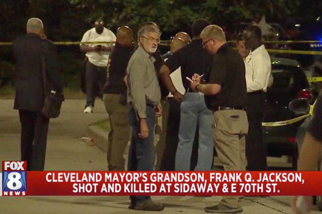 According to police, Jackson's grandson was dropped off at an intersection and soon after was approached by a suspect and then shot repeatedly.