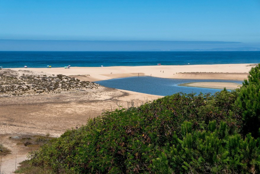 Melides beach in Portugal