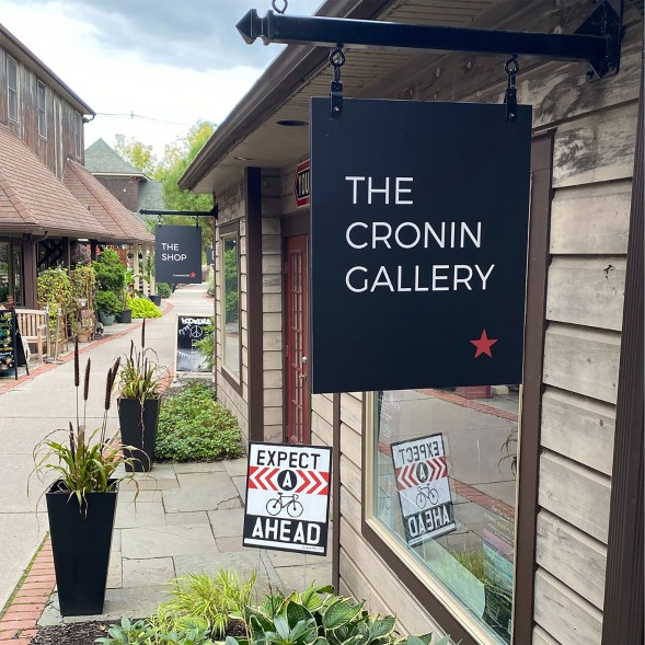 Exterior shot of the Cronin Gallery.