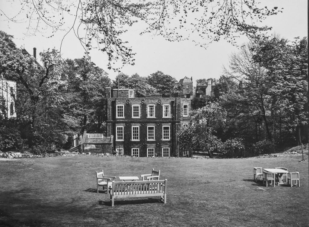 The Frognal House estate as seen in 1940.