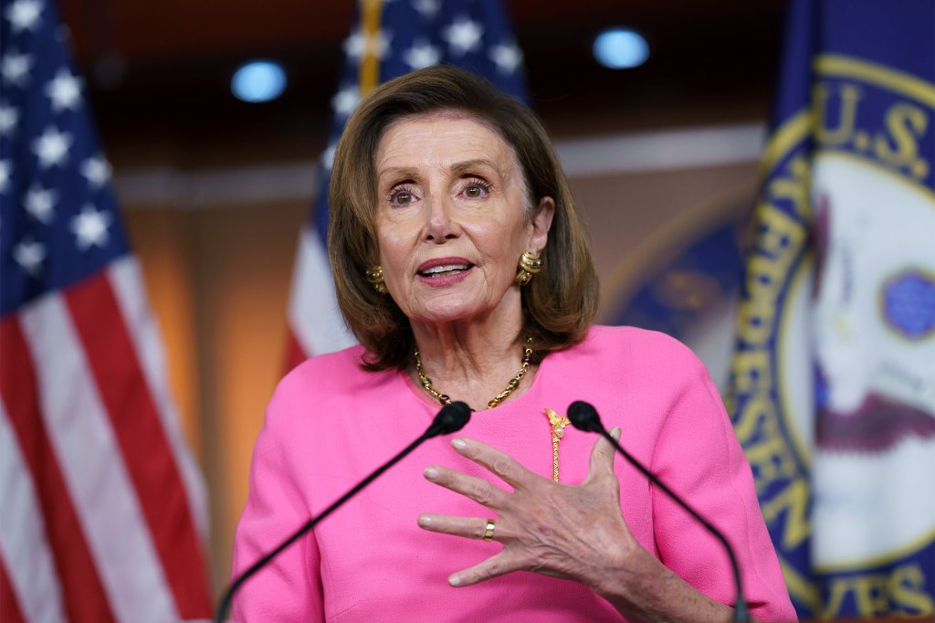 """House Speaker Nancy Pelosi has warned lawmakers that """"adjustments"""" might be needed on the $3.5 trillion social spending plan."""