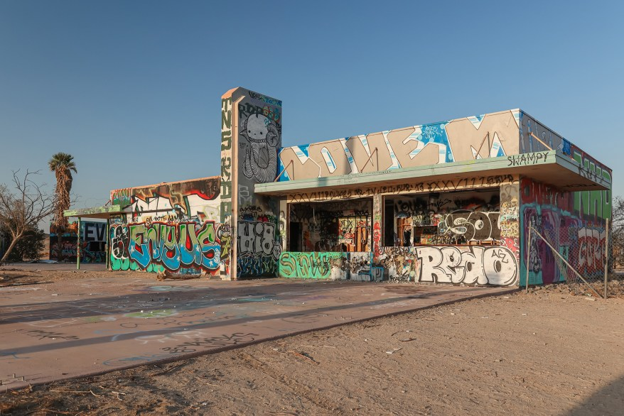 """""""It is so damaged it's hard to imagine making any functional use of the structures and remains of the old waterpark that are still standing,"""" said Shaun."""