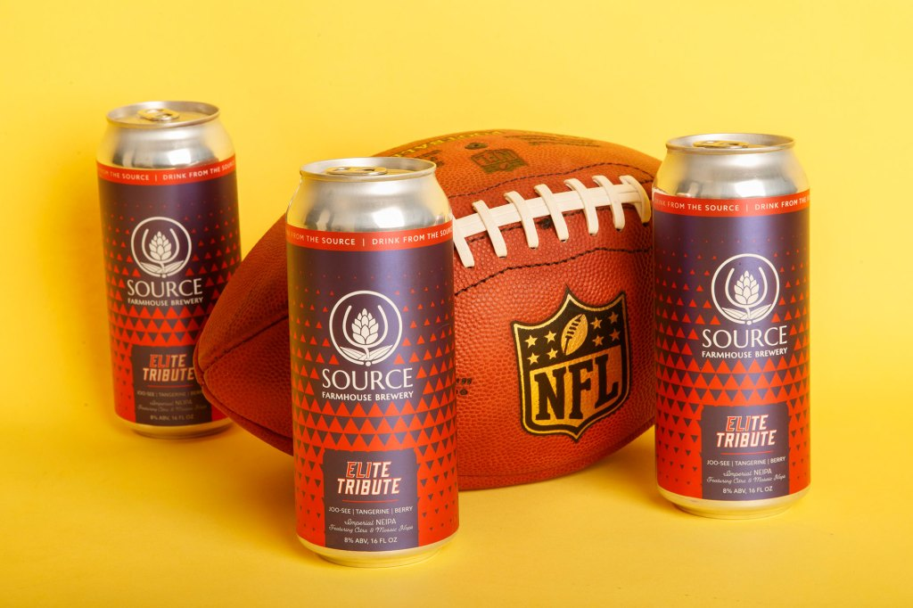 Eli Manning tribute beer from Source brewing.