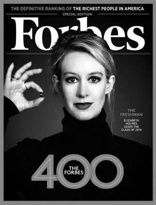 Elizabeth Holmes was branded one of the most successful women in business by Forbes before her company was investigated.