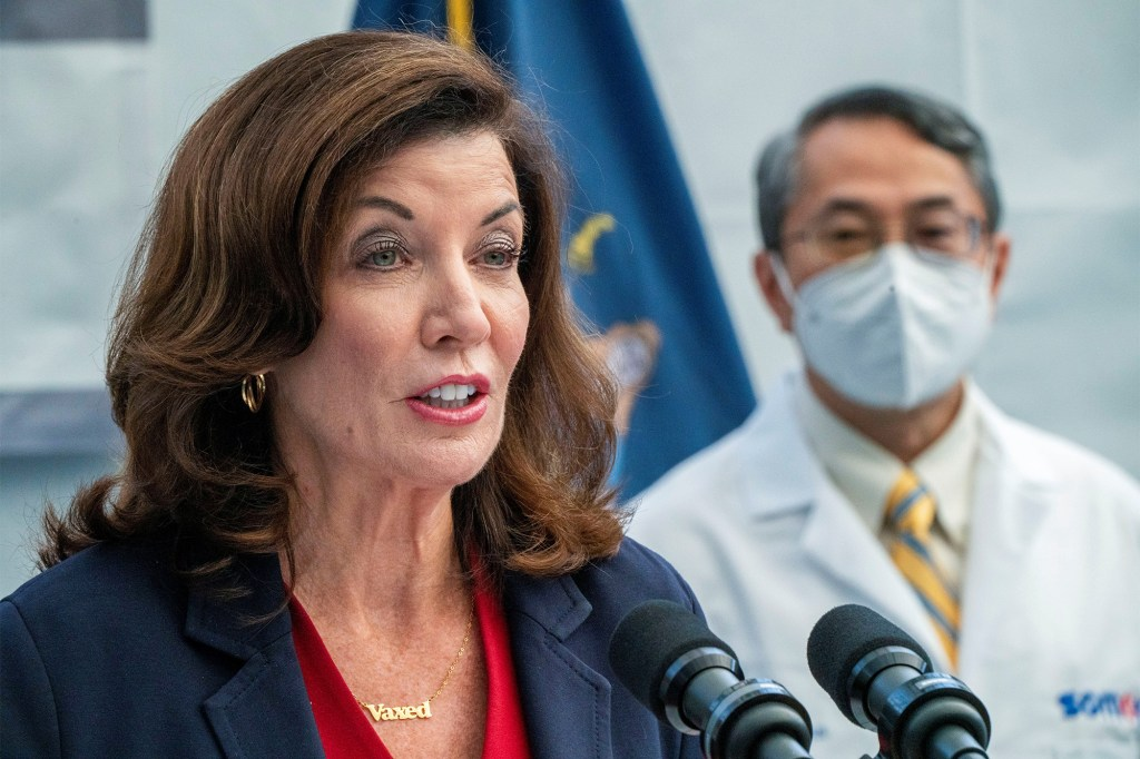 New York State Governor Kathy Hochul