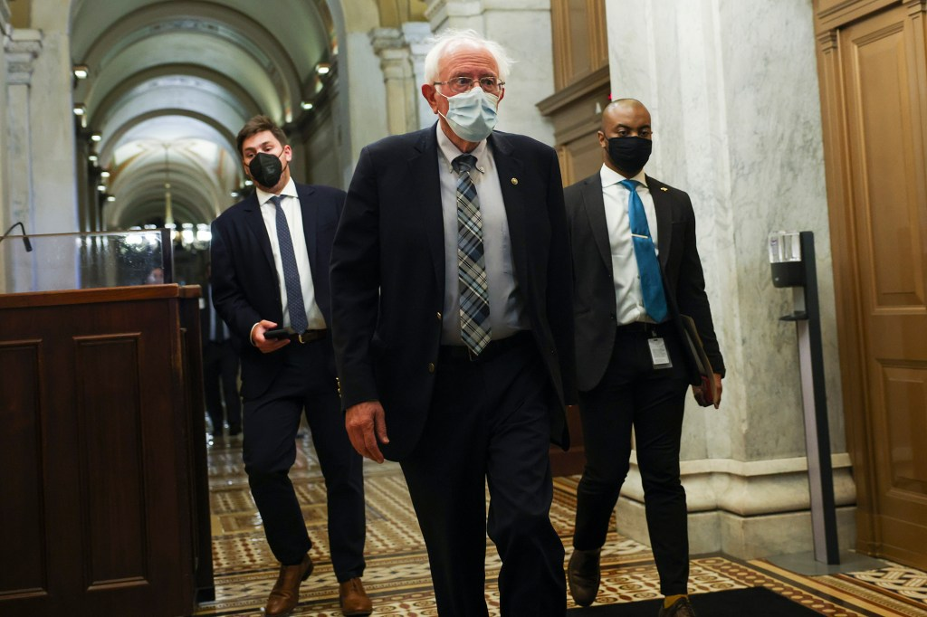 Sen. Bernie Sanders (I-VT) warned that progressives would lose leverage if the infrastructure bill was passed before the social spending bill.