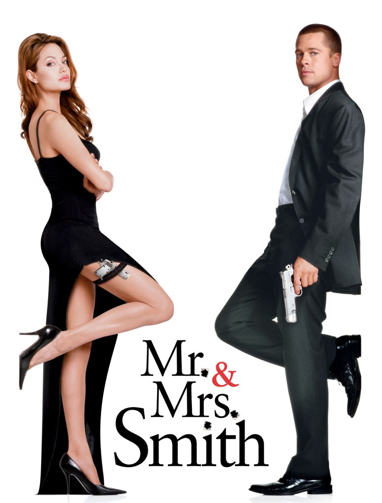 angelina and brad in mr and mrs smith