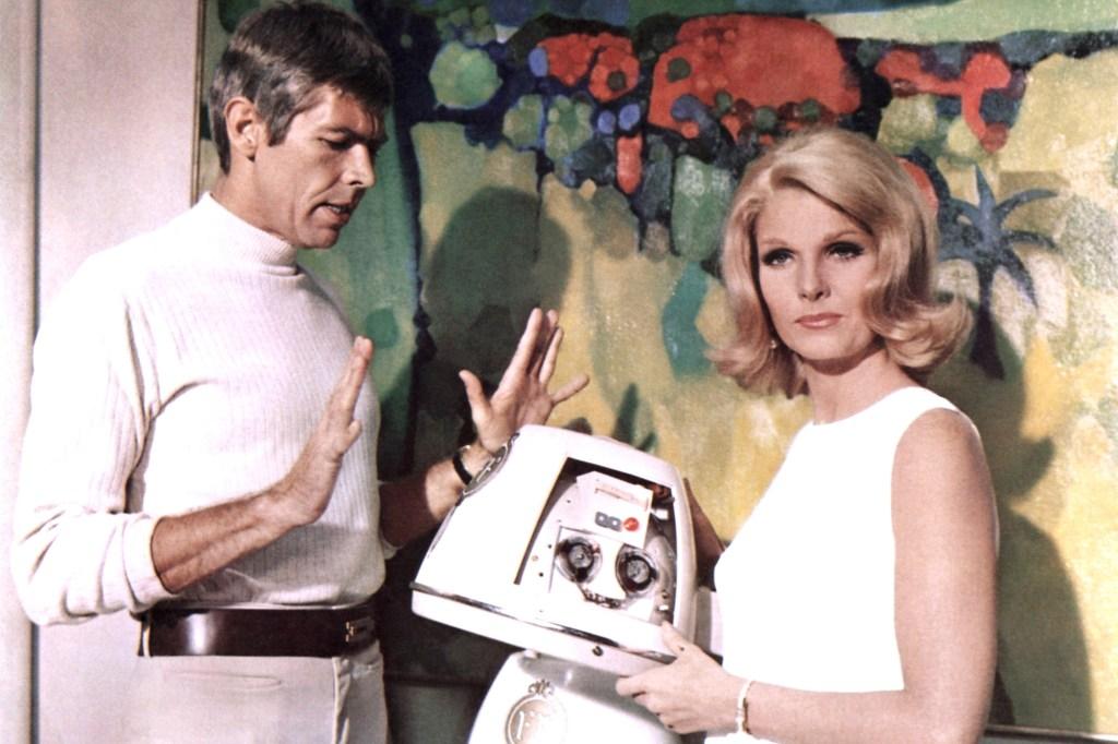 """Jean Hale in 1967's """"In Like Flint."""""""