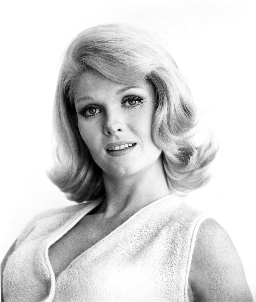 """Jean Hale in a portrait for 1967's """"In Like Flint."""""""