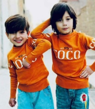 These twins were also victims in the strike.