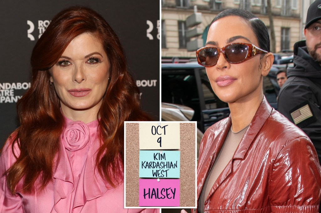 """Sitcom queen Debra Messing slammed Wednesdays announcement that Kim Kardashian is one of several hosts booked for the upcoming Season 47 of NBC's """"Saturday Night Live."""""""