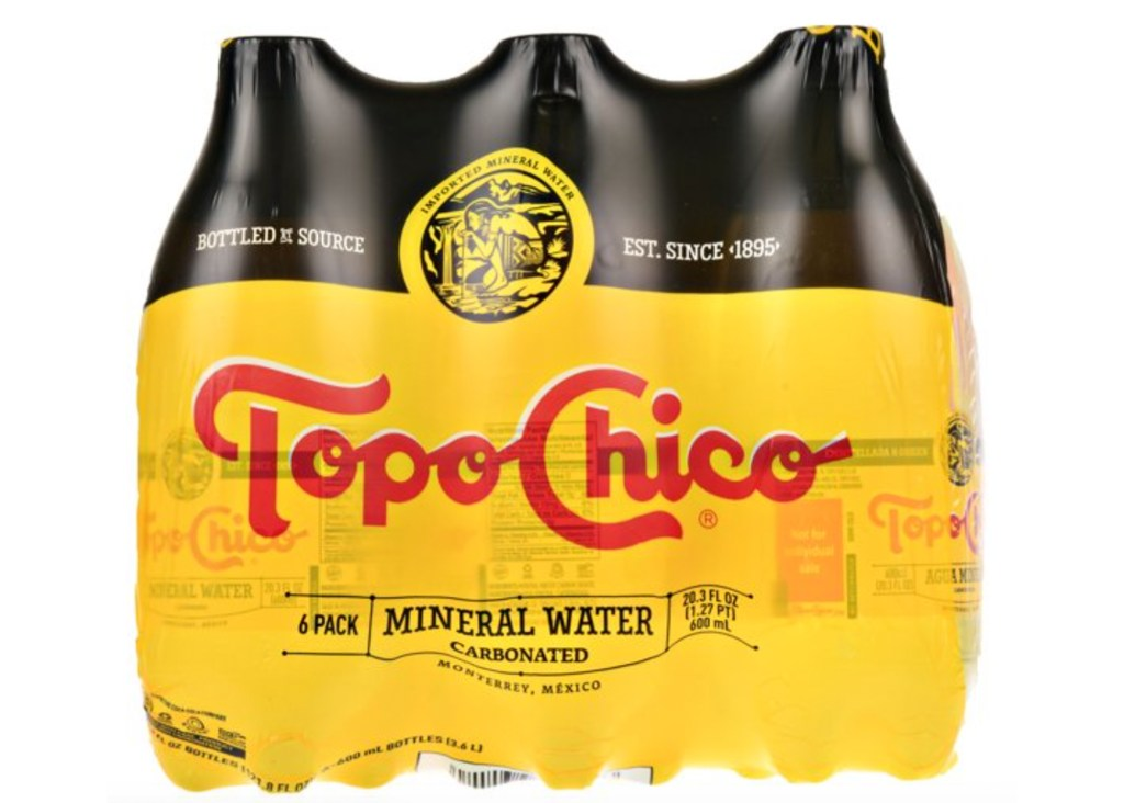 Topo Chico Carbonated Mineral Water (6-Count)