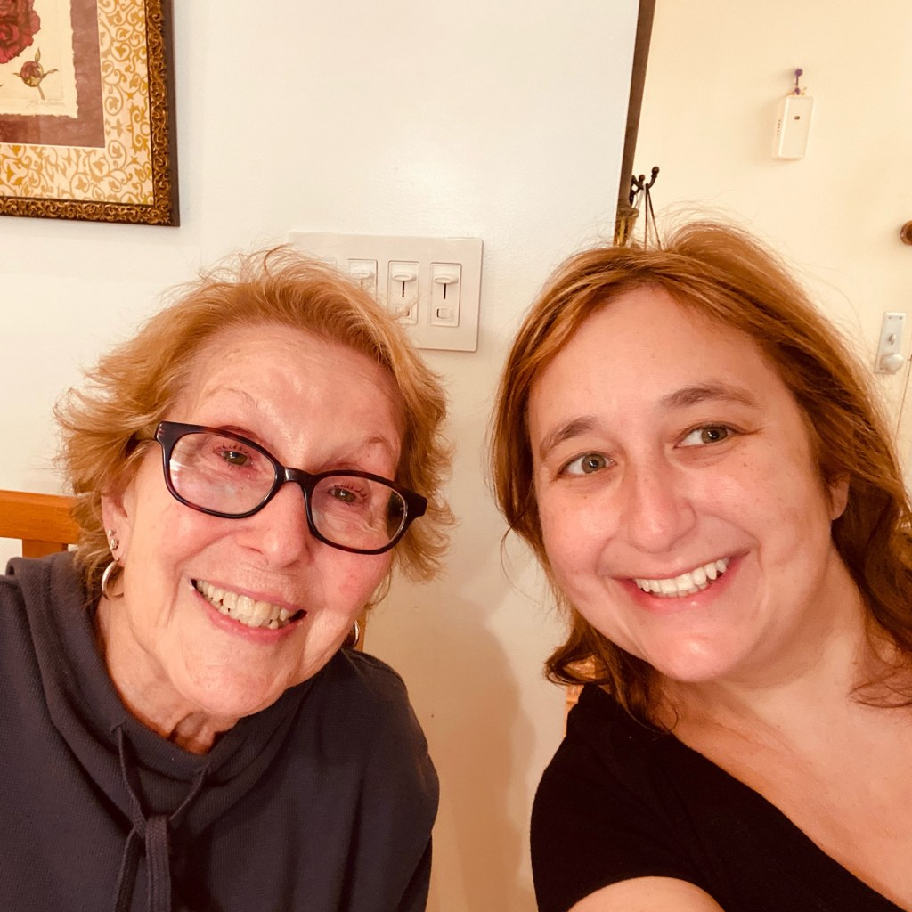 Gal pals Loretta Antosofsky, left, and Liz Rashes, right, don't let their four-decade age gap get in the way of their friendship.
