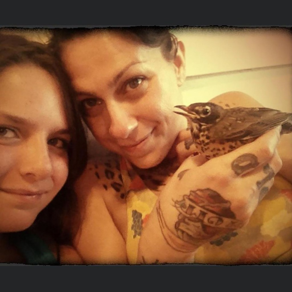 Memphis and mother Danielle Colby