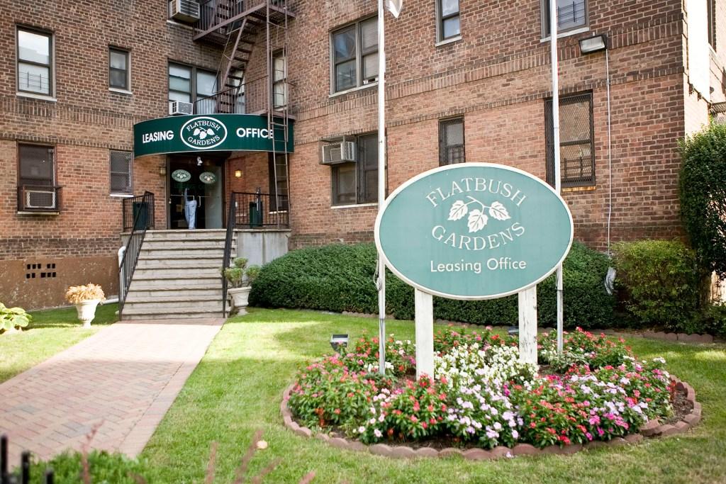Flatbush Gardens, Brooklyn, where Michael grew up.