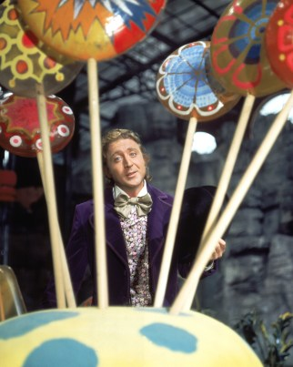 """Gene Wilder as Willy Wonka in """"Willy Wonka and the Chocolate Factory"""" in 1971."""
