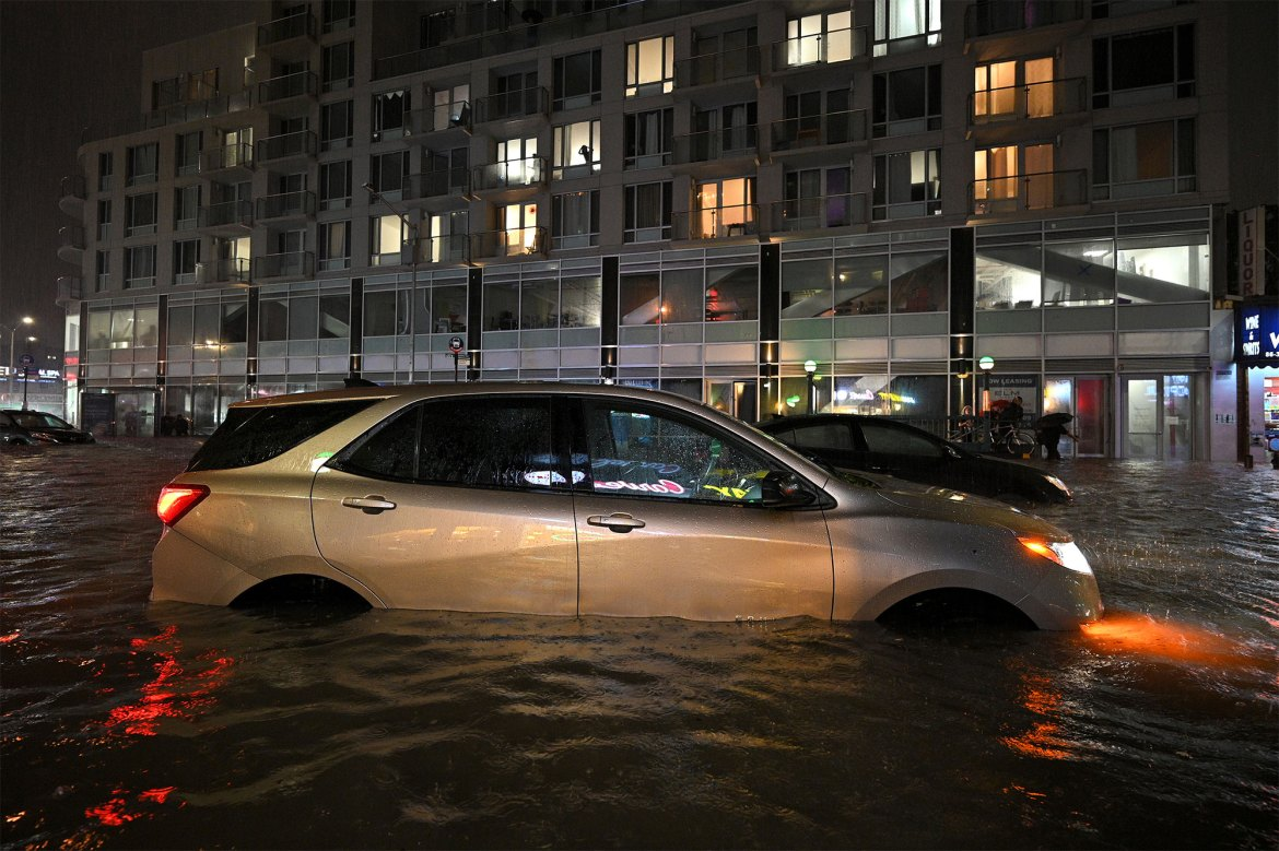 NYC storm floods kill 4 trapped in basements