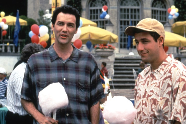"""Norm Macdonald and Adam Sandler in """"Billy Madison."""""""