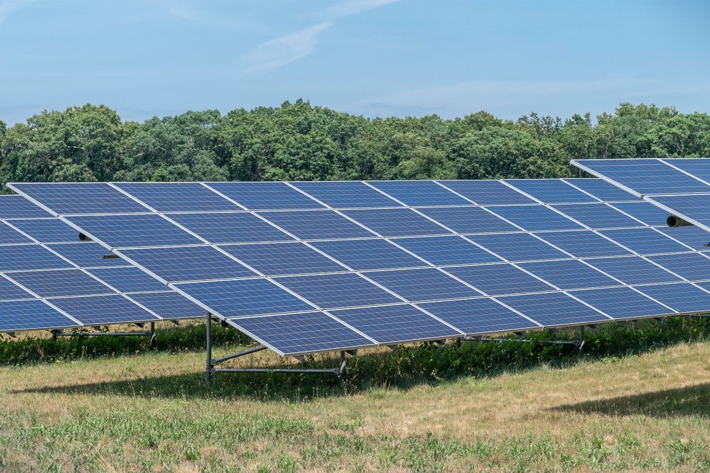 Gov. Hochul announced a new solar energy goal for New York as part of the green energy projects.
