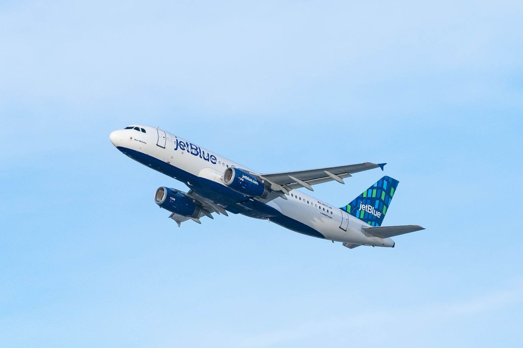 The in-flight fiasco occurred August 24 on a JetBlue flight from Palm Beach, Florida to Hartford, Connecticut.