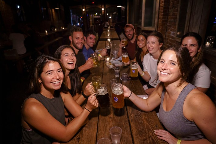 This Brooklyn beer hall doesn't mess around when it comes to Oktoberfest.