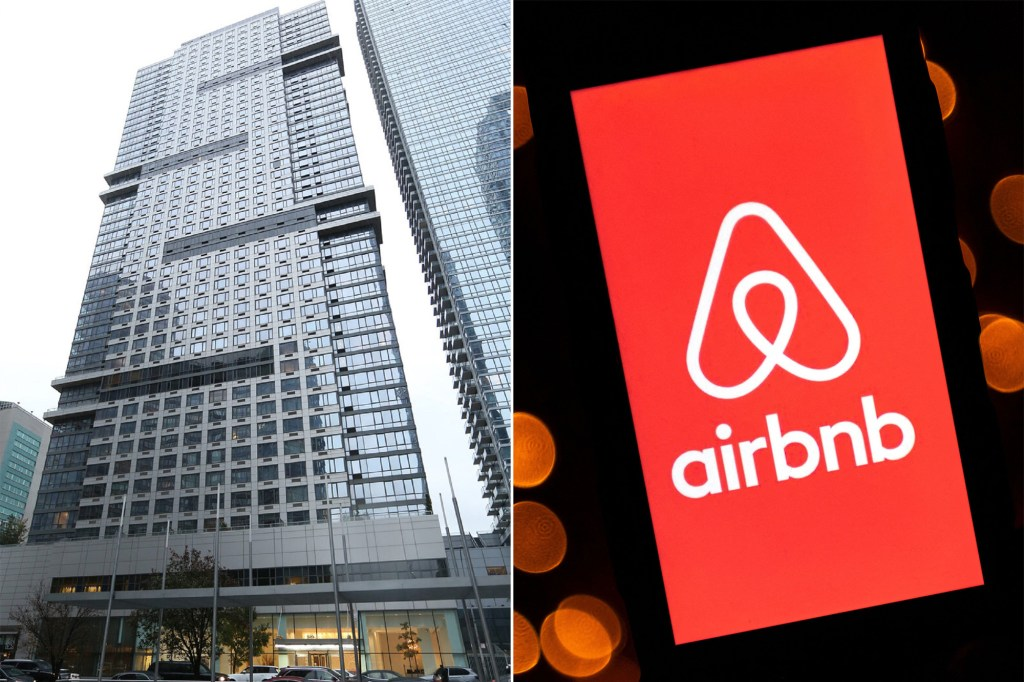 A side by side of the Airbnb app and the Atelier.
