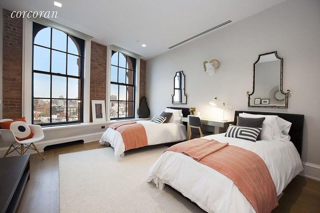 One of five bedrooms.