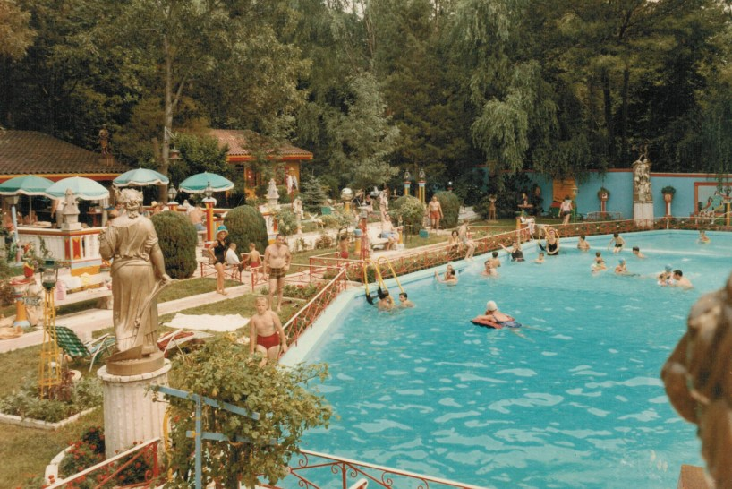 """Richie """"The Boot"""" Boiardo had a large swimming pool located at his Livingston Estate. He held parties almost every weekend."""