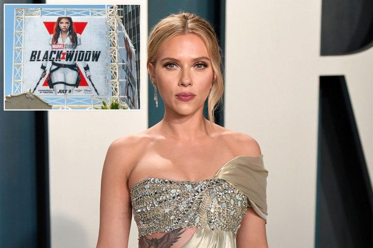 Scarlett Johansson, Disney settle lawsuit over 'Black Widow'