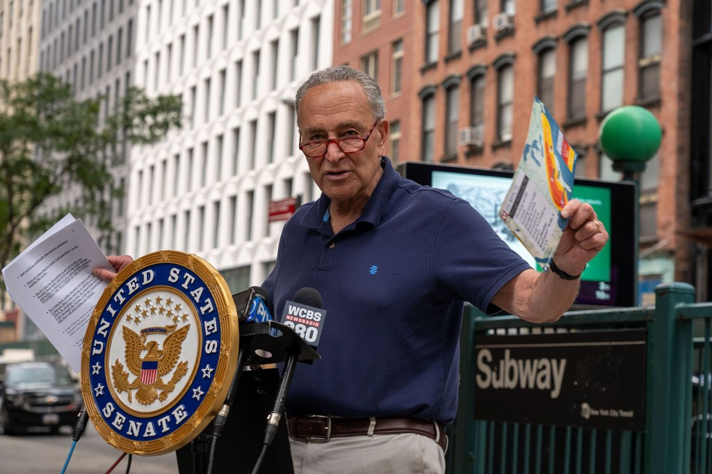 """Senator Schumer is also seeking $3 million in federal funds for upgrades to the Empire State's system to allow for """"sharper"""" forecasts."""